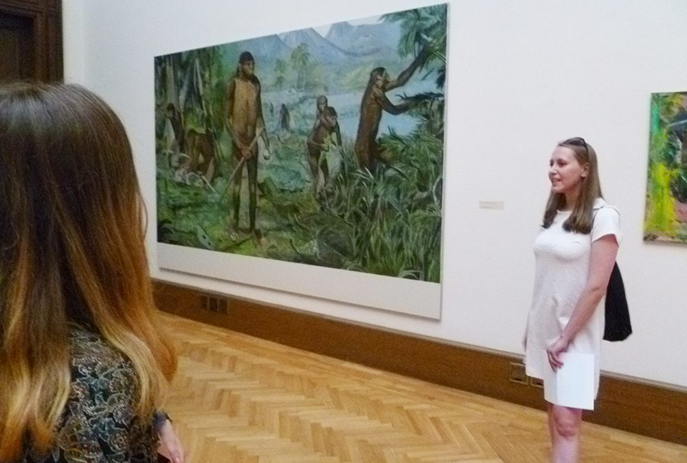 Návštěva výstavy Gerharda Richtera v NG