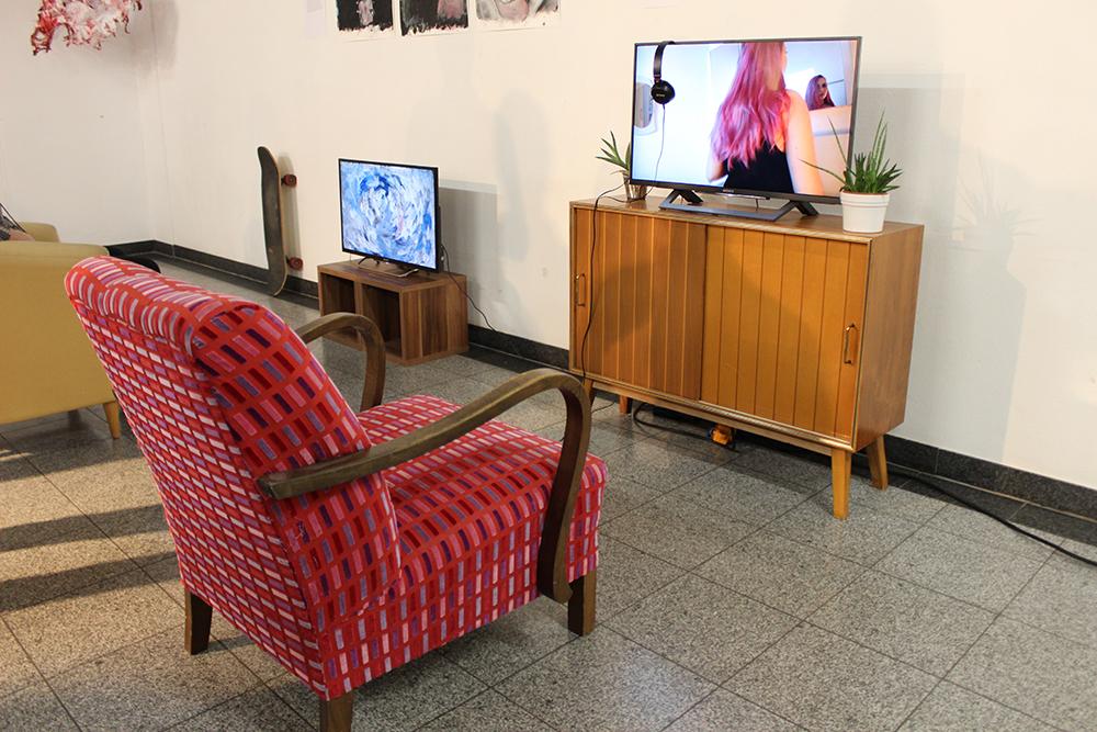 Návštěva vernisáže maturitních prací HBLA für Künstlerische Gestaltung Linz