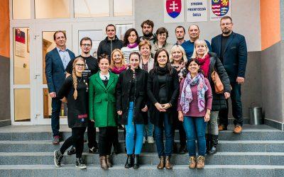 Anežka v projektu Erasmus+, Setkání ve Svidníku