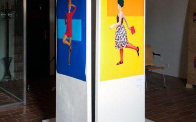 Fotodokumentace výstavy maturitních prací