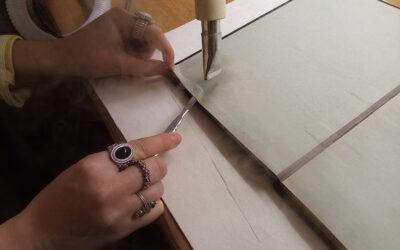 Workshop restaurování papíru