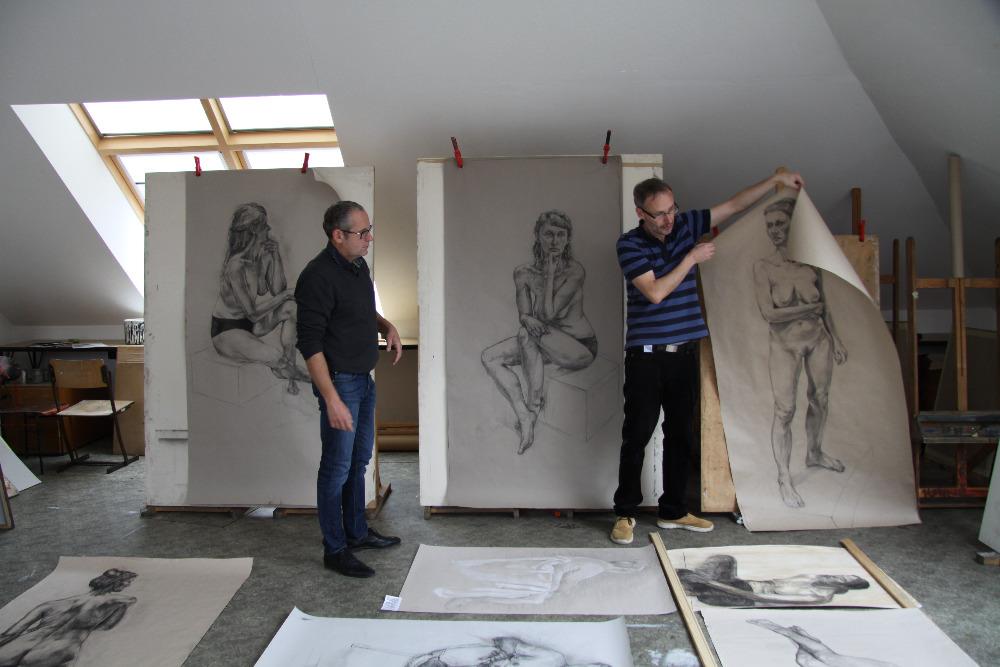 Soutez Figuralni Kresby A Malby Figura 16 Sups Sv Anezky Ceske V