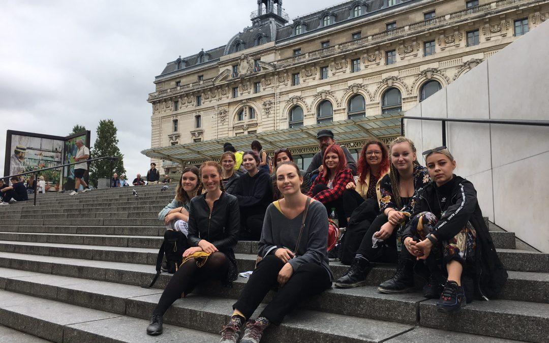 Exkurze Paříž