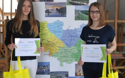 Výherkyně regionálního kola soutěže ERDV Marťa a Máša. Holky, gratulujeme!