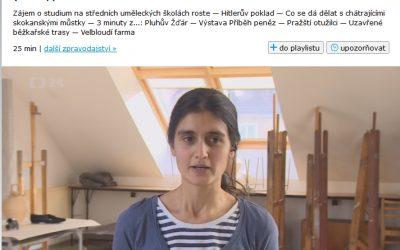 Reportáž ČT z talentových zkoušek