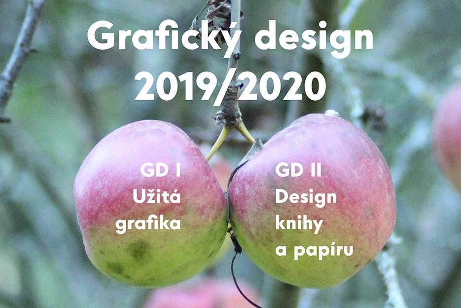 Grafický design ve školním roce 2019/2020